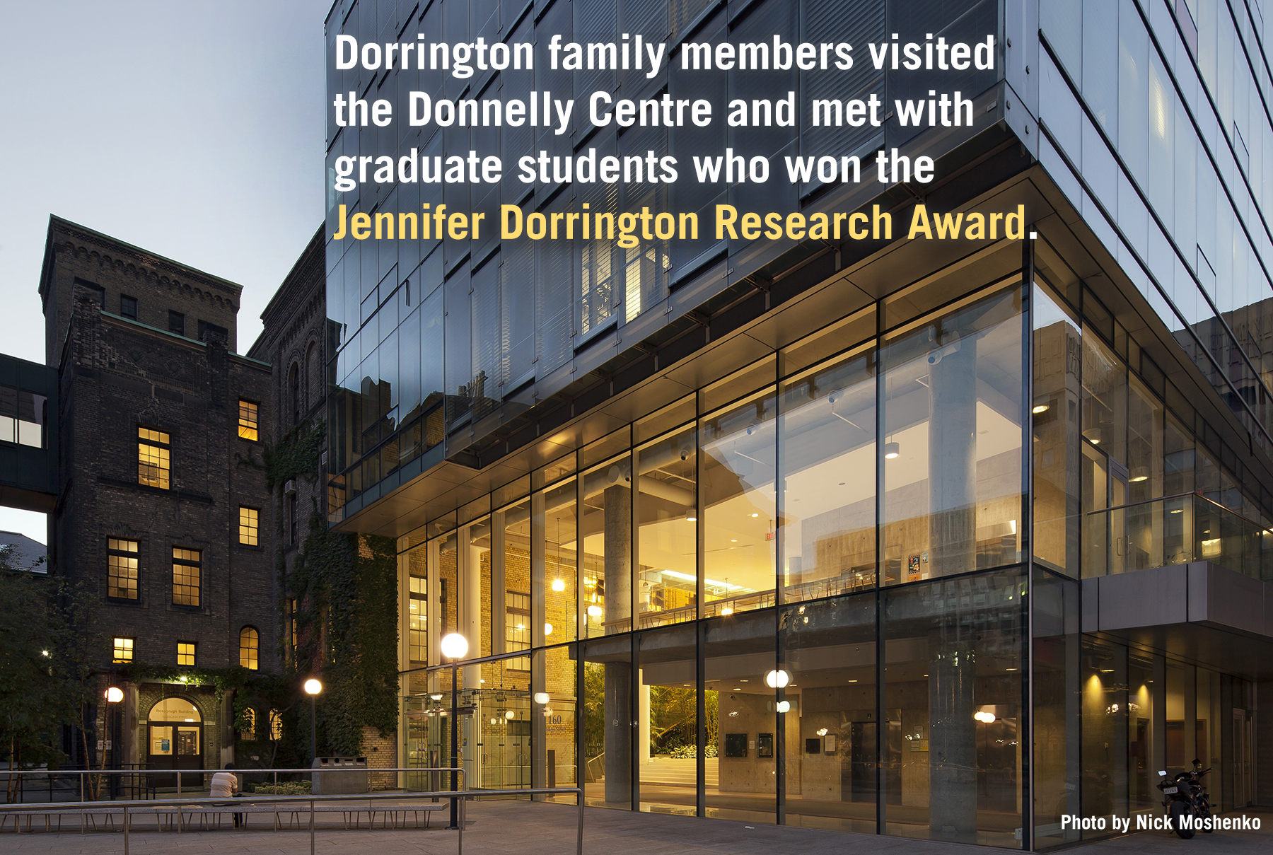 Dorrington visit