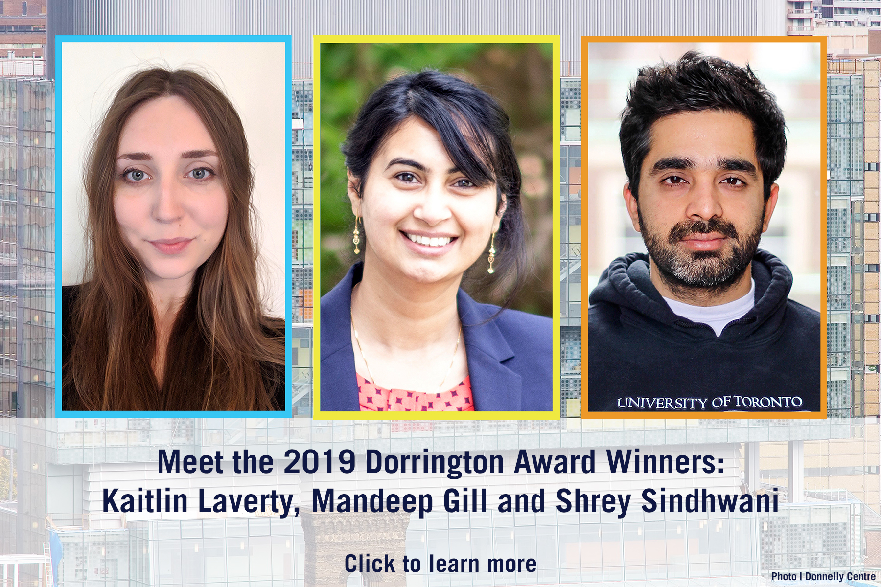 Dorrington awardees