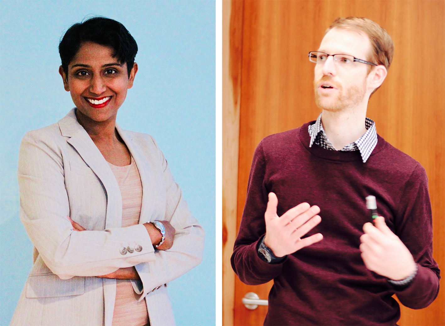 shraddha pai and michael aregger